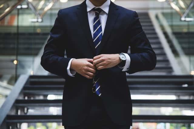 איש עסקים מצליח - אילוסטרציה